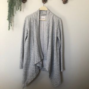 Grey Speckled Cardigan